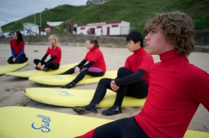 Have a surf lesson in the North East