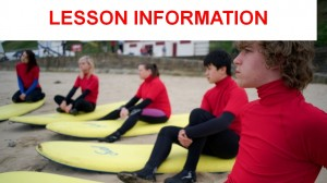 1 lesson Information